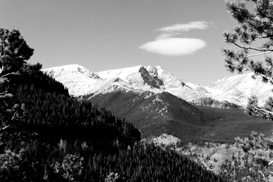 Rocky Mountain National Park, CO ~ Rocky Mountains 14 ~ 1985 ~ 85-10B-012 ~ Richard Clayton Photography ~ Cambridge Photo