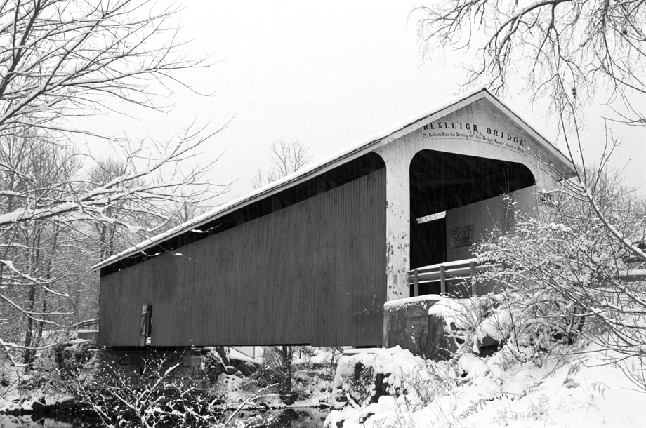 Rexleigh NY ~ Rexleigh Covered Bridge ~ 2001 ~ CP013018 ~ Richard Clayton Photography ~ Cambridge Photo