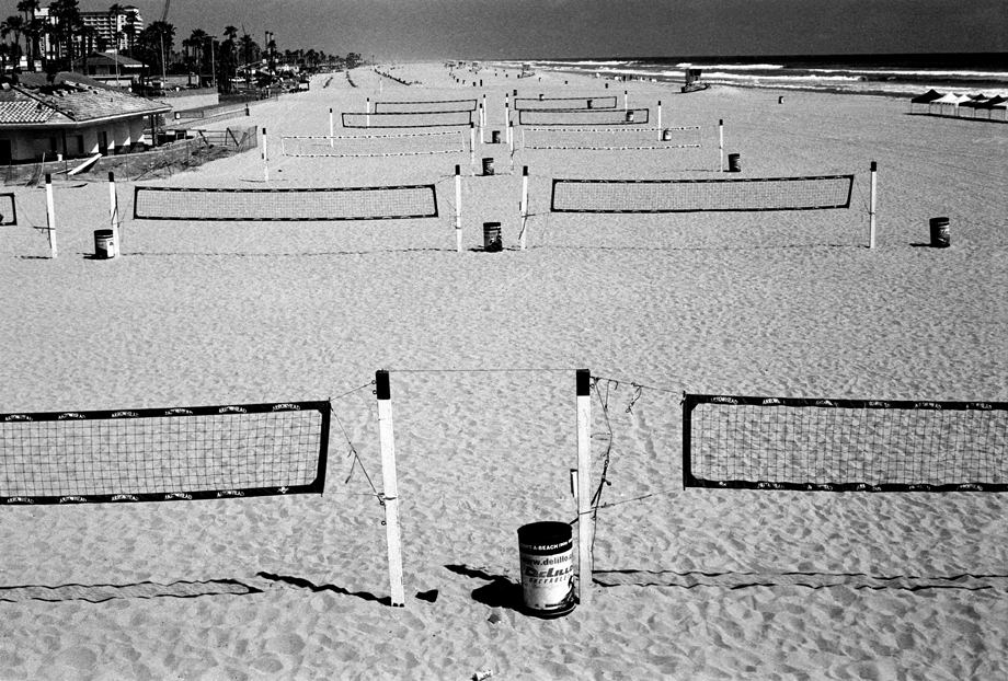 Huntington Beach, CA ~ Nets ~ 2001 ~ CP013021 ~ Richard Clayton Photography ~ Cambridge Photo