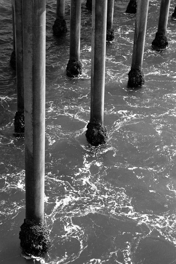 Huntington Beach, CA ~ Pillars ~ 2001 ~ CP013022 ~ Richard Clayton Photography ~ Cambridge Photo