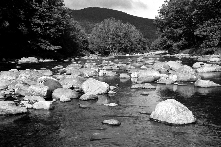 Green Mountain National Forest, VT ~ River Rock ~ 2001 ~ CP013039 ~ Richard Clayton Photography ~ Cambridge Photo