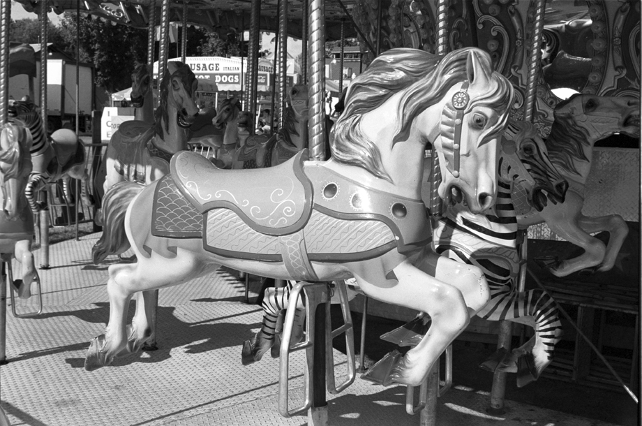 Washington County Fair, NY ~ Merry~Go~Round ~ 2002 ~ CP023021 ~ Richard Clayton Photography ~ Cambridge Photo