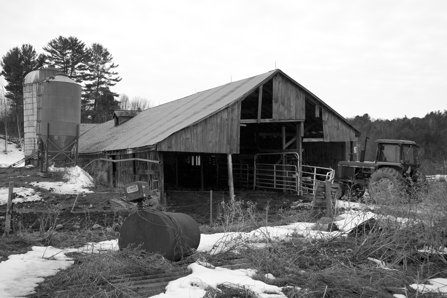 Pawlet VT ~ Barn ~ 2005 ~ CP053037 ~ Richard Clayton Photography ~ Cambridge Photo