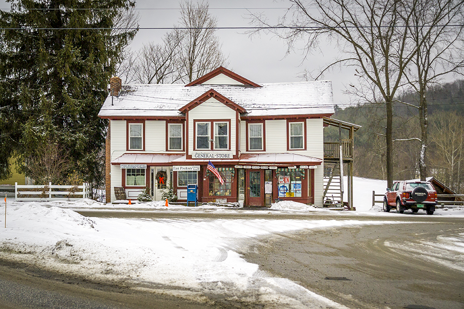 East Poultney, VT ~ General Store ~ 2006 ~ CP063030 ~ Richard Clayton Photography ~ Cambridge Photo