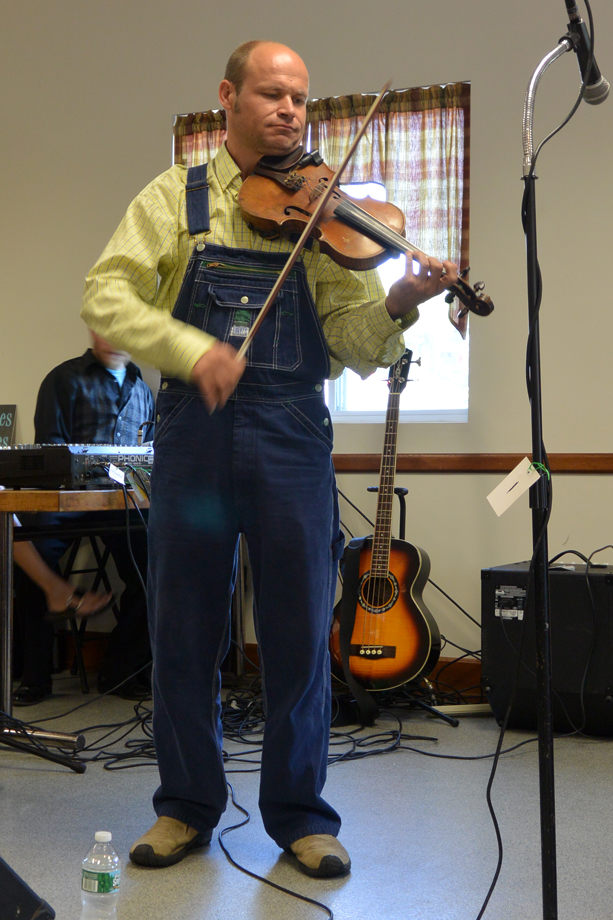 Hartford, NY ~ Firehouse ~ Shad Cobb ~ The Tennessee Mafia Jug Band ~ 2015 ~ CP153014 ~ Richard Clayton Photography ~ Cambridge Photo