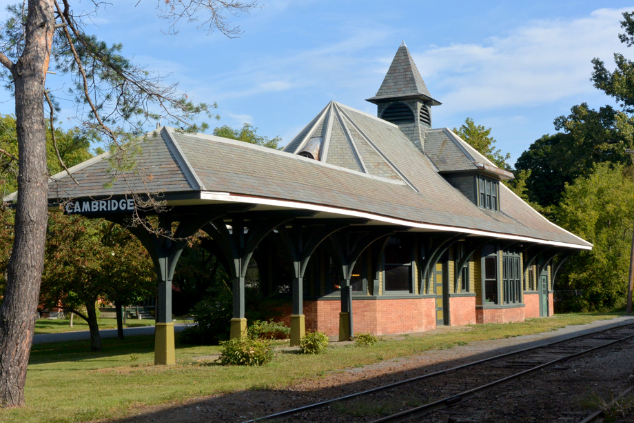 Cambridge, NY ~ Train Station ~ 2015 ~ CP153023 ~ Richard Clayton Photography ~ Cambridge Photo