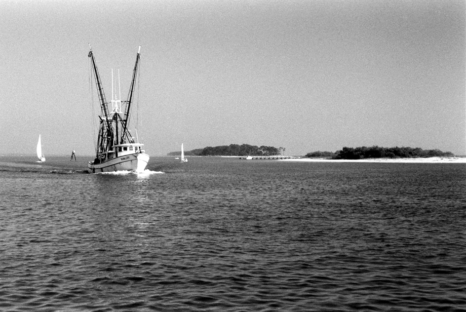 Biloxi, MS ~ Fishing Boat ~ 1989 ~ CP893002 ~ Richard Clayton Photography ~ Cambridge Photo