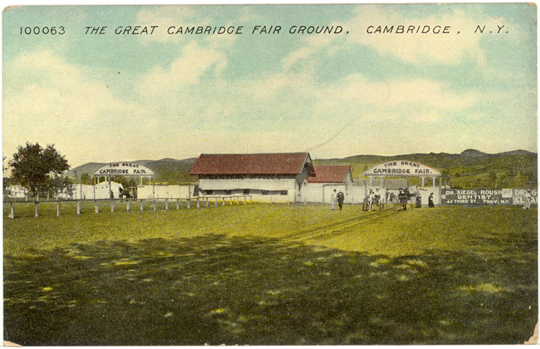 Cambridge NY, Other 1900s Photograph - The Great Cambridge Fair Ground  - NYCA0033 - Richard Clayton Photography - Cambridge Photo - Vintage Photographs