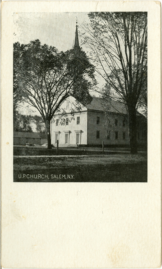 Salem NY, Other 1900s Photograph - U.P. Church 1906 - NYSA0052 - Richard Clayton Photography - Cambridge Photo - Vintage Photographs