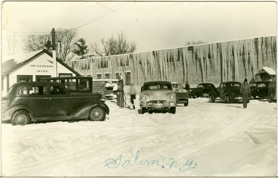 Salem NY, Other 1940s Photograph - D. W. Avery Saw Mill Office  - NYSA0058 - Richard Clayton Photography - Cambridge Photo - Vintage Photographs