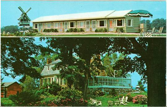 Salem NY, Other 1950s Photograph - Wel-Tevreden Motel  - NYSA0066 - Richard Clayton Photography - Cambridge Photo - Vintage Photographs