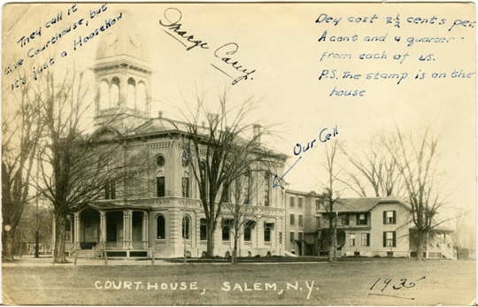 Salem NY, Other 1930s Photograph - Our Cell 1935 - NYSA0069 - Richard Clayton Photography - Cambridge Photo - Vintage Photographs