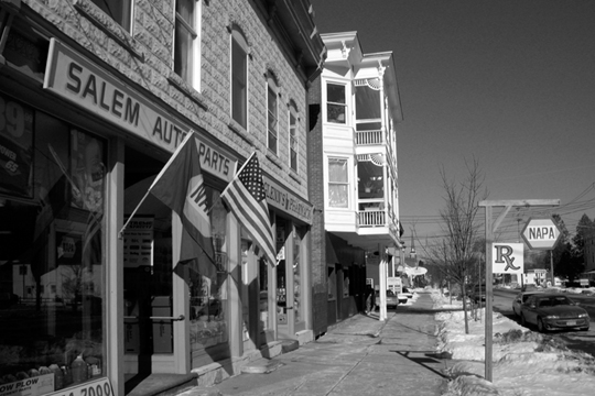 Salem NY, Main Street 2000s Photograph - Salem Auto Parts 2005 - NYSA3007 - Richard Clayton Photography - Cambridge Photo - Vintage Photographs