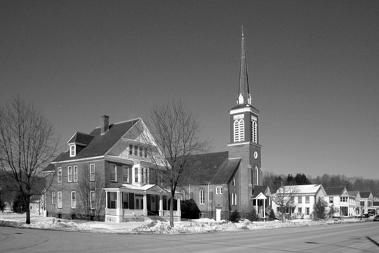 Salem NY, Other 2000s Photograph - Church 2005 - NYSA3009 - Richard Clayton Photography - Cambridge Photo - Vintage Photographs