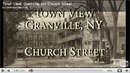 Town View Granville, NY ~ Church StreetA Historical look at Church Street